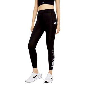Nike Women's Air Leggings: Black/Gray/White NWT